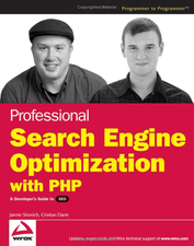 [Book Cover] Professional Search Engine Optimization with PHP